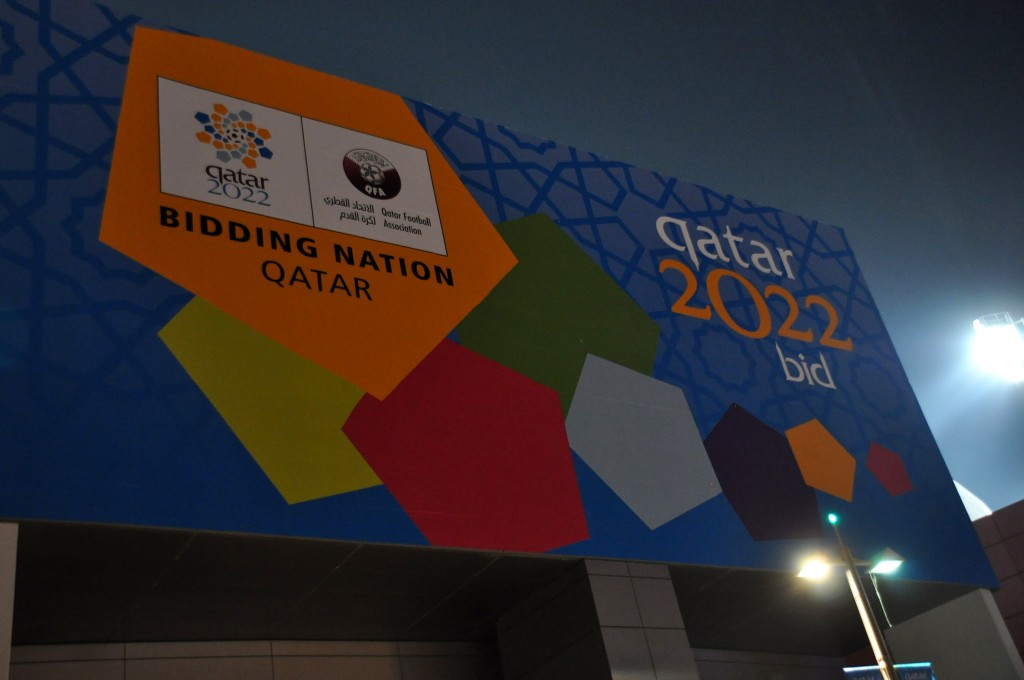 Support for Qatar's hosting of the 2022 FIFA World Cup has been dwindling amid allegations of bribery and appalling labor conditions. Photo by Flickr user Aslan Media