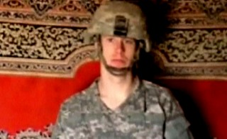 Sgt. Bergdahl appears in a video released by the Taliban.