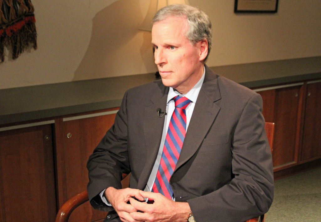 Former U.S. Ambassador to Syria Robert Ford in an interview with the PBS NewsHour.