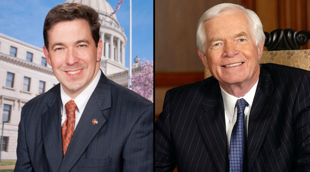 Miss. State Senator Chris McDaniel and U.S. Senator Thad Cochran are locked in a tight race