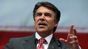 Texas Gov. Rick Perry, seen in this 2013 photo in Houston, . Photo by Justin Sullivan/Getty Images