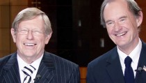 "Ted Olson and David Boies in ""The Case Against 8."" Photo courtesy of HBO"