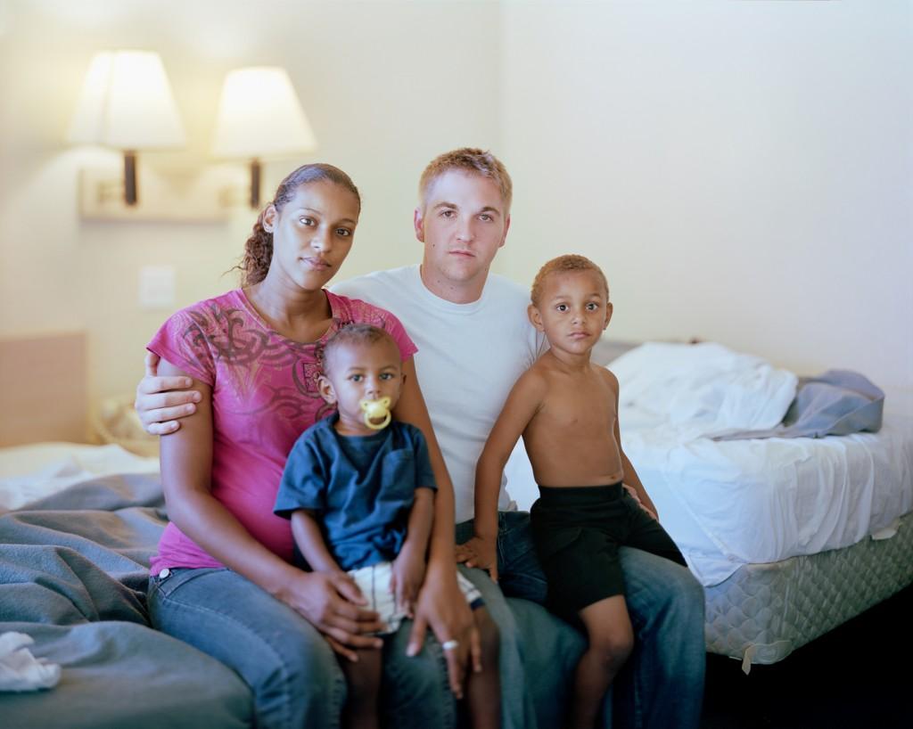 Sonia, Zach, Raekwon and Antonia, 2011, Tampa, Florida. Photo by Richard Renaldi/Aperture