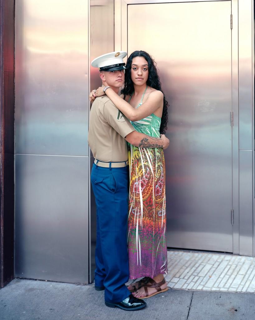 Michael and Kimberly, 2011, New York, New York. Photo by Richard Renaldi/Aperture