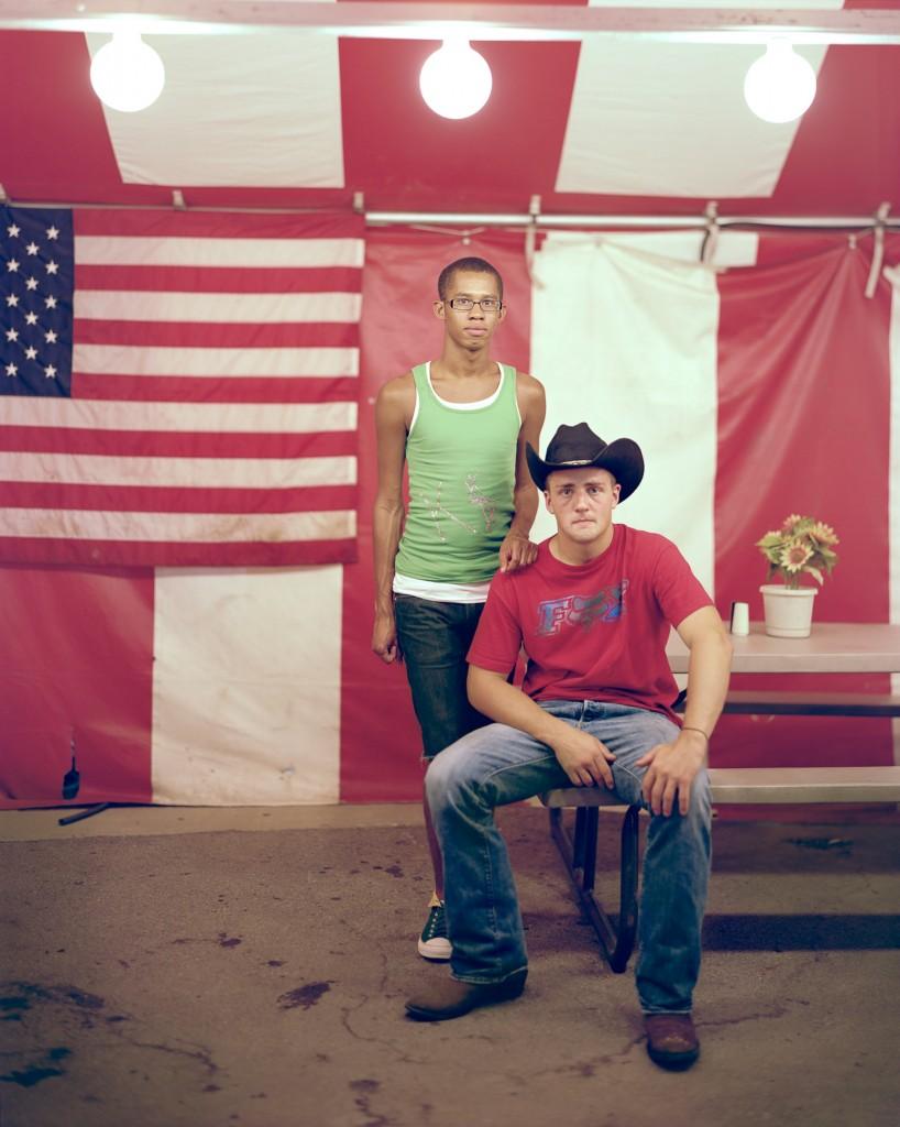 Jermoy and Matthew, 2011, Columbus, Ohio. Photo by Richard Renaldi/Aperture