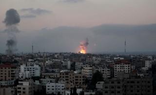 Israeli airstrike on Gaza