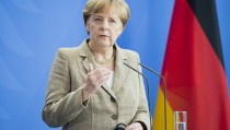 Merkel Meets With Moldavian Prime Minister Leanca