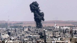 Israeli air strikes on Gaza