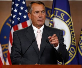Speaker of the House John Boehner. Photo by Win McNamee/Getty Images
