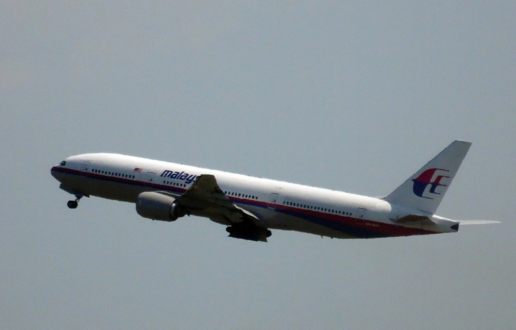 Photo shows Malaysia Airlines flight MH17 leaving Schiphol Airport in Schiphol, the Netherlands, on July 17, 2014. Photo by  Fred Neeleman/AFP/Getty Images