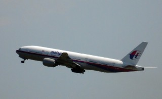 "Photo shows Malaysia Airlines flight MH17 leaving Schiphol Airport in Schiphol, the Netherlands, on July 17, 2014. Malaysia Airlines said on July 17 that it had ""lost contact"" with one of its passenger planes whose last known position was over eastern Ukraine, amid speculation it had been shot down. ""Malaysia Airlines has lost contact of MH17 from Amsterdam,"" the airline, still reeling from the disappearance of flight MH370, said on its Twitter account. The plane was due to travel from Amsterdam on an overnight flight to Kuala Lumpur, and was expected in the Malaysian capital at around 6:00 am on Friday (2200 GMT Thursday). Ukrainian President Petro Poroshenko said the jet crashed over rebel-held eastern Ukraine and may have been shot down. AFP PHOTO / ANP / FRED NEELEMAN--NETHERLANDS OUT--        (Photo credit should read Fred Neeleman/AFP/Getty Images)"