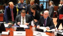 Meeting of EU foreign affairs ministers in Brussels