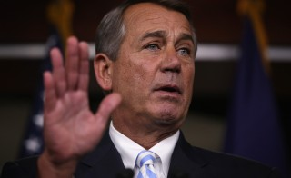 U.S. Speaker of the House Rep. John Boehner (R-OH) speaks during a press briefing July 31, 2014 on Capitol Hill in Washington, D.C. Photo by Alex Wong/Getty Images
