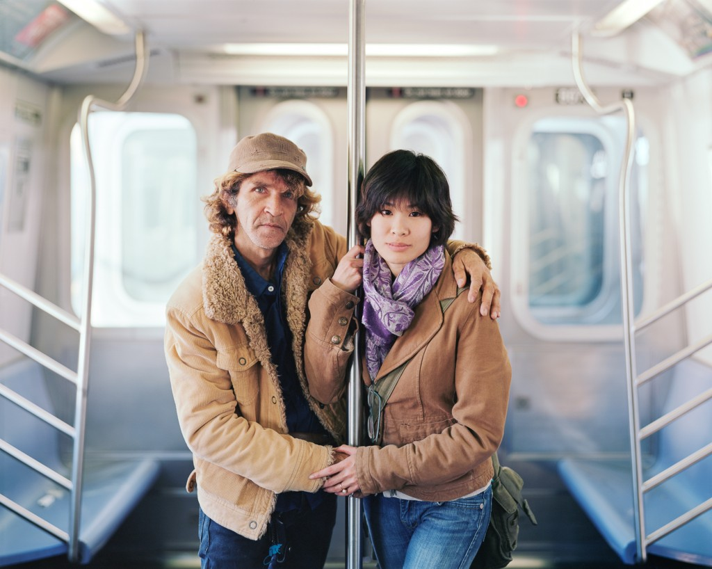 Alfredo and Jessica, 2011, New York, NY. Photo by Richard Renaldi/Aperture