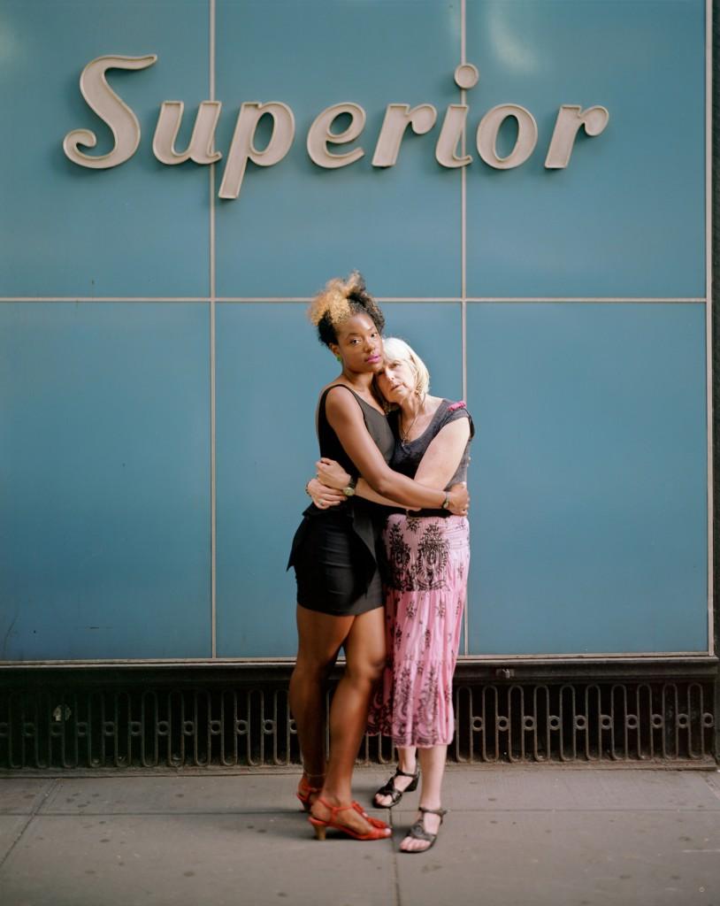 Elaine and Arly, 2012, New York, New York. Photo by Richard Renaldi/Aperture