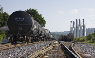 Following a series of accidents involving trains that hauled oil and flammable materials, a group of U.S. senators from six states have proposed that oil companies pay the government a fee for using trains to carry such materials. Photo by Flickr user woodleywonderworks