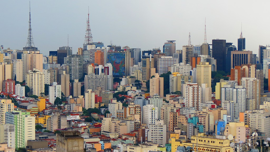 Sao Paulo, Brazil. Photo by Flickr user Carlos Pereria