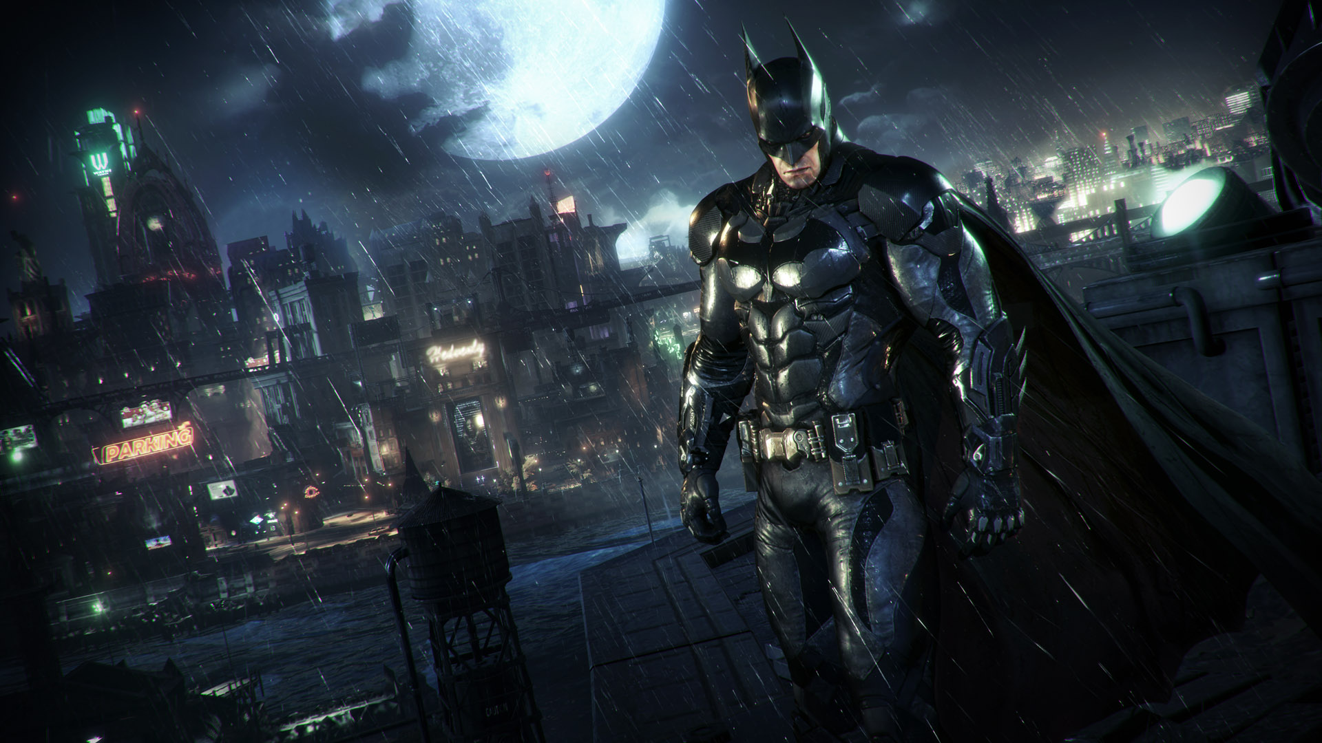 "Still from ""Batman: Arkham Knight."" Image courtesy Warner Bros. Entertainment"