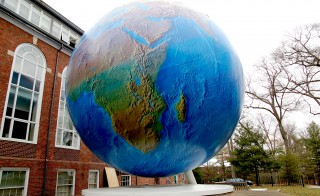 Money Magazine ranks a business school as the best bang for your buck. Photo of the Babson Globe by Flickr user Curious Expeditions.