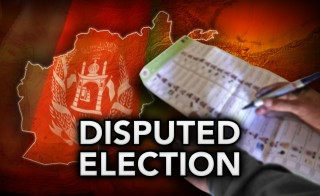 DISPUTED ELECTION  monitor afghanistan