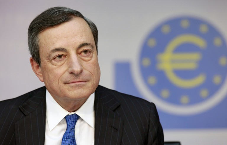 European Central Bank President Mario Draghi announced the ECB's negative interest rate policy at a press conference last month. Photo by Flickr user European Central Bank.