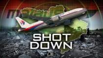 SHOT DOWN monitor malaysia airlines ukraine