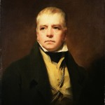 Sir Henry Raeburn's portrait of Sir Walter Scott in 1822. Owned by the National Galleries of Scotland.