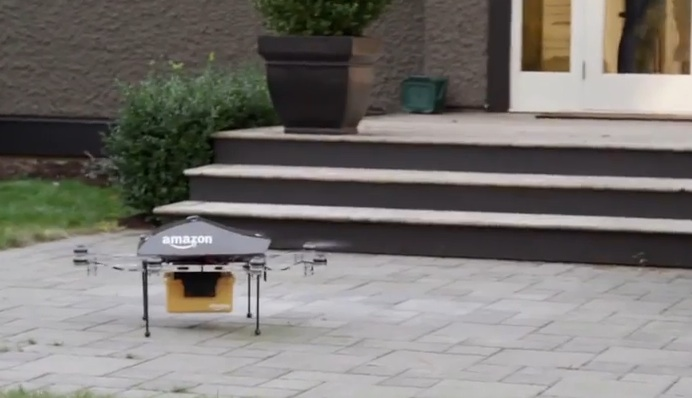 This week Amazon filed a petition with the Federal Aviation Administration to get permission to test its package-carrying drones.