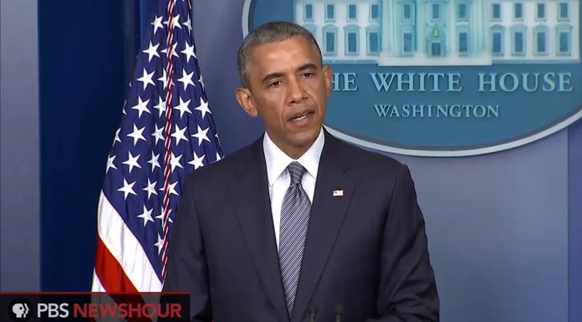 President Obama spoke from the White House on Friday, outlining that U.S. intelligence is convinced MH17 was hit by a surface to air missile.