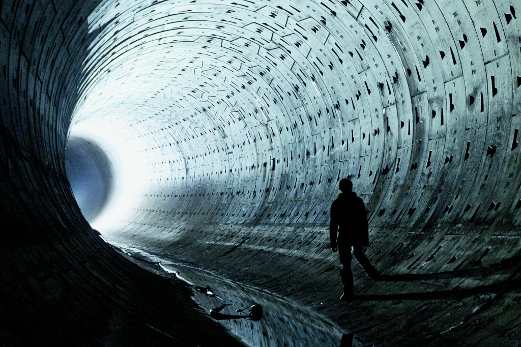"""We were awestruck by the scale of these new tunnels. Photo: """"Subterranean London: Cracking the Capital"""" by Bradley Garrett et al."""