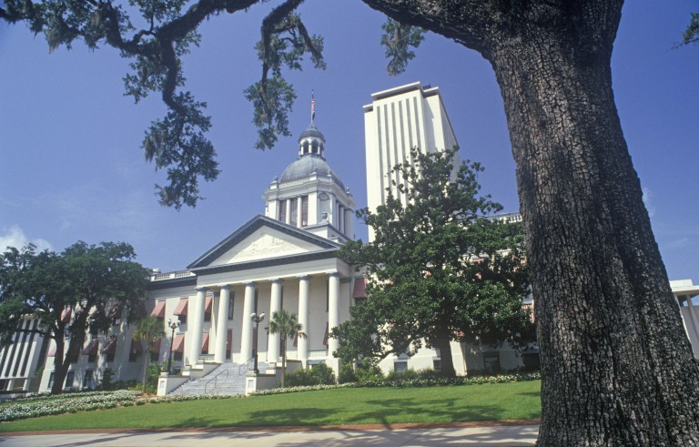 State Capitol of Florida, Tallahassee. Photo by Visions of America/UIG via Getty Images