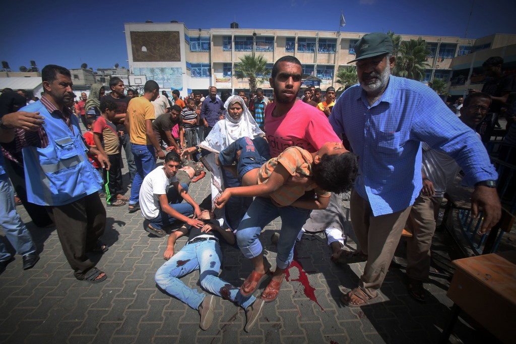 Israel strikes another UNRWA school in Gaza; 10 killed