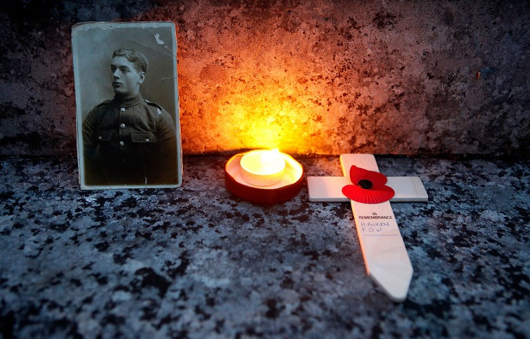 Lights Go Out To Mark World War One Centenary