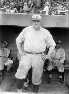 Babe Ruth was one of the first cancer patients to receive a combination of chemotherapy and radiation, a practice that doctors still use today.