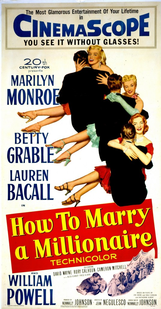 """How to Marry a Millionaire"" (1953). Courtesy Photofest"