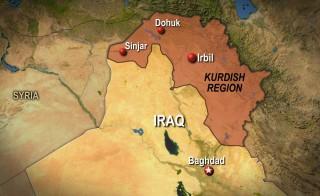 Kurdish Region Map