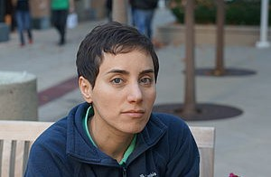 Stanford University professor Maryam Mirzakhani won the Fields Medal in 2014. Photo courtesy of the International Mathematical Union