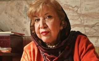 Simin Behbahani, February 10, 2007. Photo by Romissa Mofidi