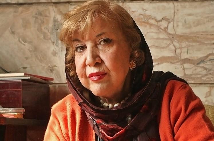 Simin Behbahani, February 10, 2007. Photo by Romissa Mofidi