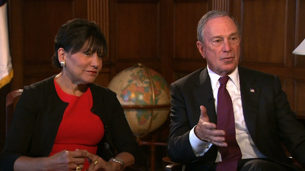 Michael Bloomberg, former mayor of New York, and Commerce Secretary Penny Pritzker join Judy Woodruff to discuss Africa's economic promise and challenges on August 4, 2014.