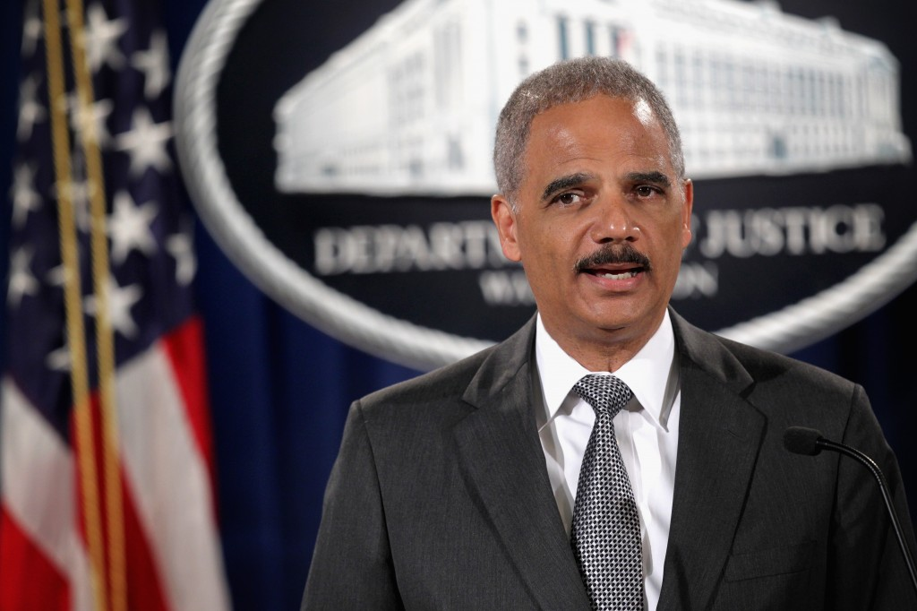 A White House official has announced that U.S. Attorney General Eric Holder will resign Thursday. Photo by Alex Wong and Getty Images