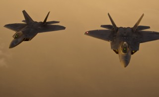 F-22 Raptors at Air Force Week