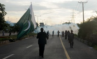 Anti-government protests in Islamabad