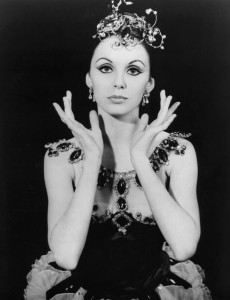 "Photo of Patricia McBride, who was part of the original cast for George Balanchine's ballet, ""Jewels,"" first performed in 1967. Photo via Wikimedia Commons/New York Ballet Theater"