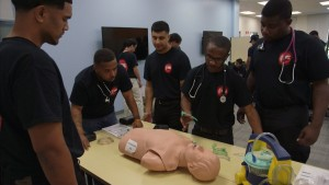 SAVING LIVES ems training