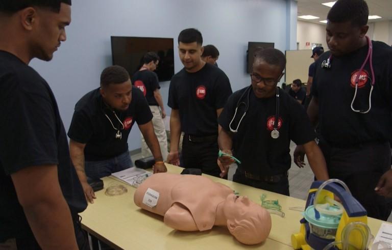 SAVING LIVES ems training