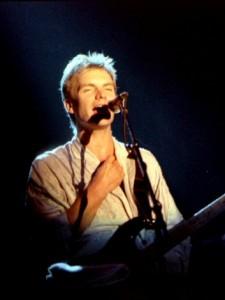 Sting performing in Norway in 1985. Photo via Wikimedia Commons/Helge Øverås