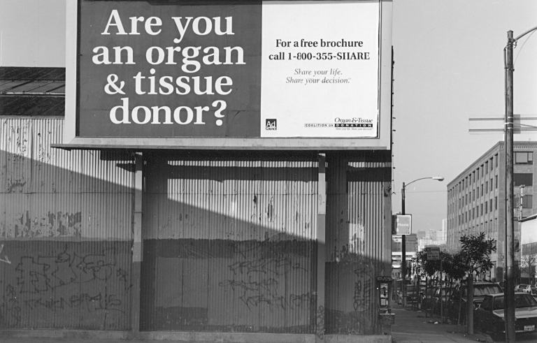 More Americans are signed up to donate organs than regularly volunteer their time or donate money. Photo by Flickr user Mark Coggins.