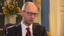ukraine prime minister yatsenyuk