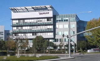 Yahoo headquarters in Sunnyvale, California. Photo via Wikimedia Commons/Coolcaesar